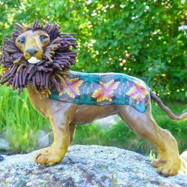 Ett lejon!