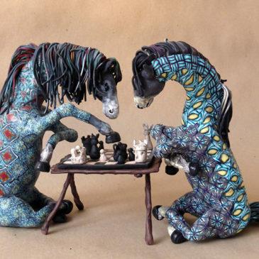 Polymer Art Challenge – Art Chain – Dag 4 och 5