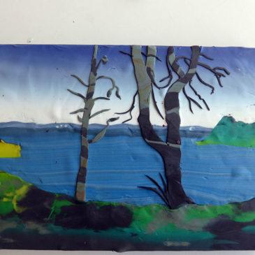 Roxen, del 2 – träd och förgrund