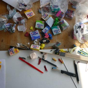 Kan man verkligen vara konstnär bara på fritiden?