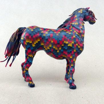 Bargello-hästen del 6 – färdig!