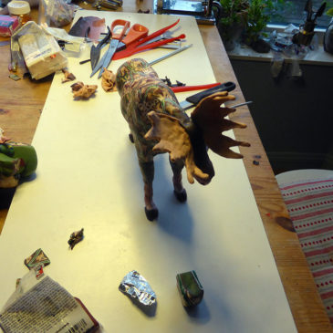 Mosebacke Moose – del 3 – montera canes på kroppen