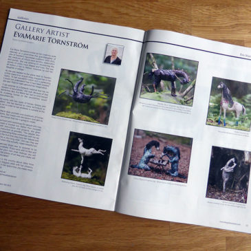 Gallery Artist in The Polymer Arts Magazine