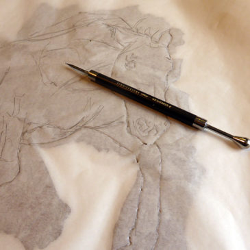 Transferring the contour of the horse