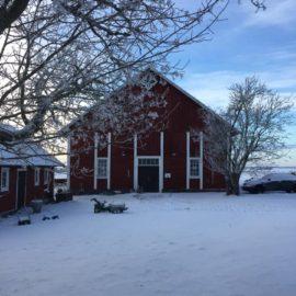Vernissage på Boställets Vedugnsbageri lördagen den 21 januari 2017