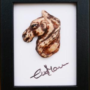 Litet hästporträtt – Dust
