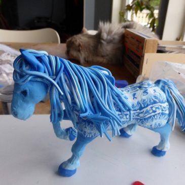 Den blå hästen del 2