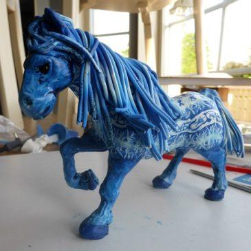 Den blå hästen del 3