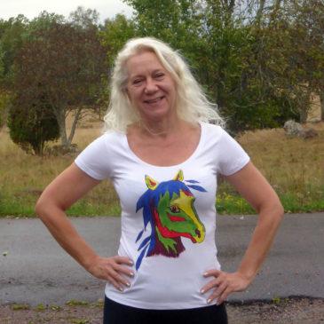 Häst-T-shirt