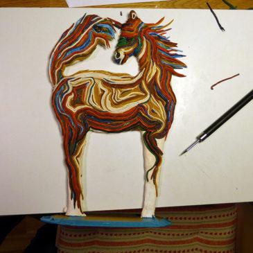 """Här kommer strängarna till """"The Strand Horse"""""""