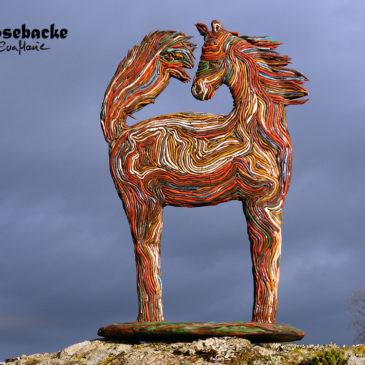 The strand horse – färdig!