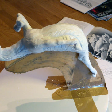 The figurehead horse will be white