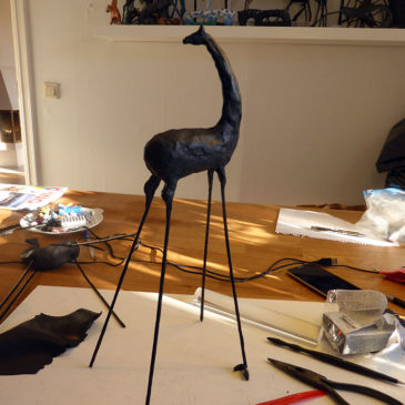 A new Mosebacke Horse gets its preliminary shape