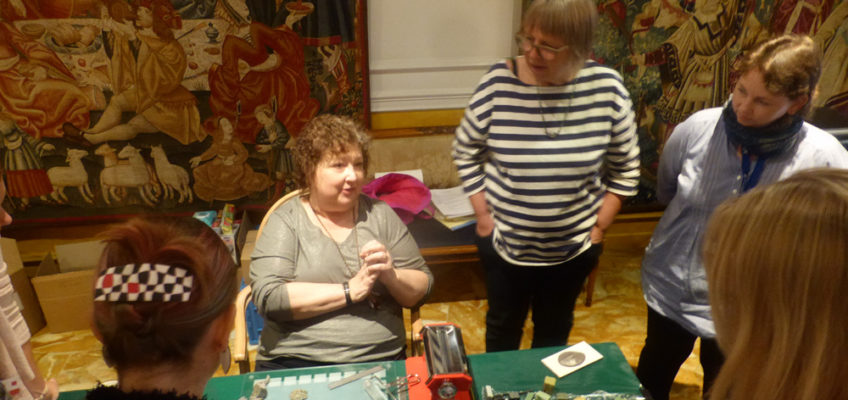 Loretta Lam teaches at FIMO Symposium