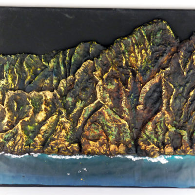Polymer Clay Art Na Pali Coast