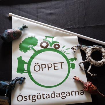 Välkommen på Öppen Ateljé under Östgötadagarna